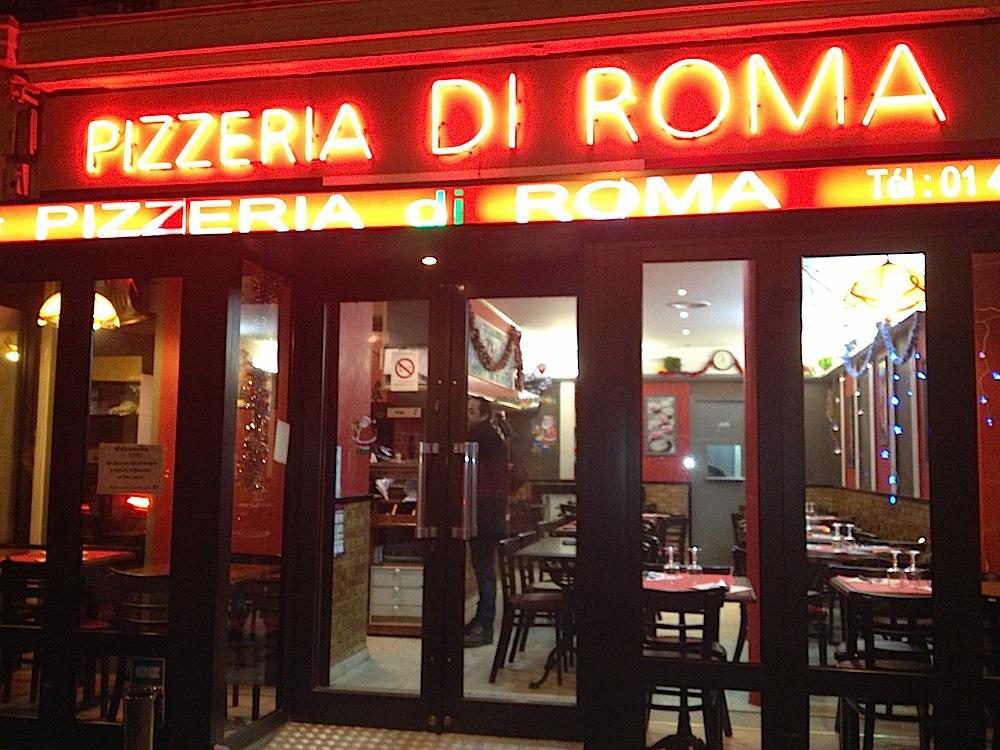 pizzeria di roma 43 rue de prony 75017 paris les meilleures pizzas du ...